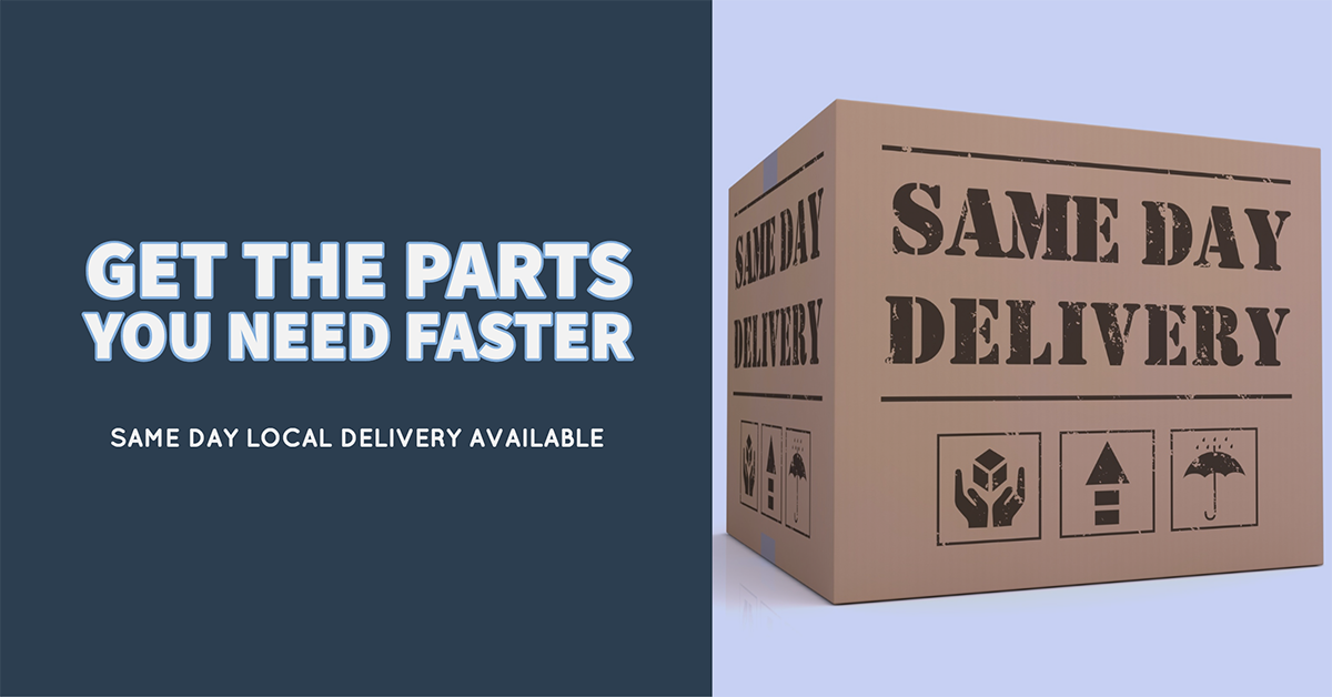 Faster, and Lower Cost Delivery Now Available!